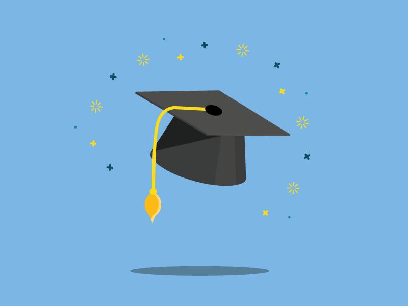 Graduation cap graduation cap exam vector hat cap graduation