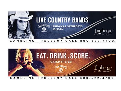 Outdoor Billboards logo branding design typography