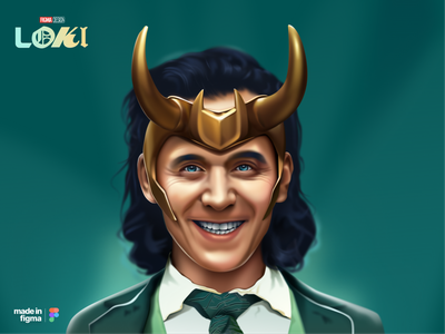 Loki - Figma illustration graphic design figma loki character design design illustration