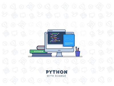 Learn Python 100days minimal coding programming python mac computer study workspace