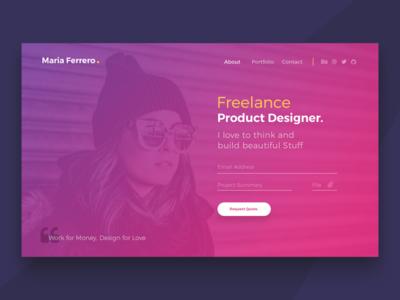 Freebies - Ferrero Landing Page