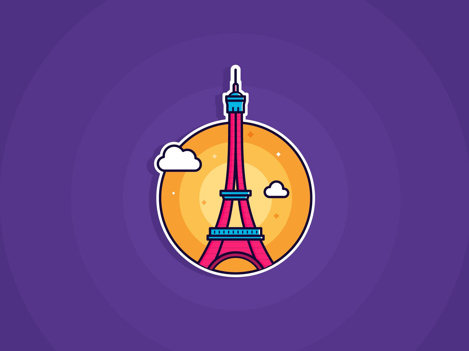 France sticker 2x