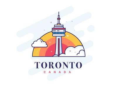 Toronto - Sticker Mule