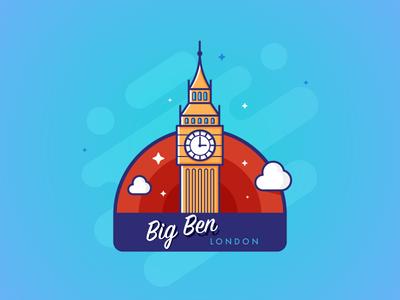 Big Ben - Stickermule