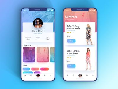 Fashion Profile Concept