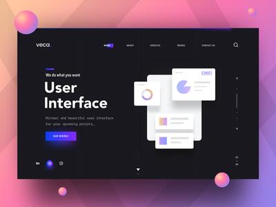 Veca - Landing Page