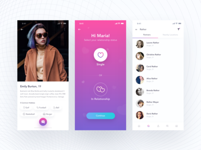 Dating App UI #1
