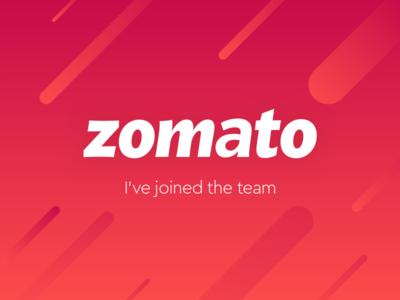Joined Zomato