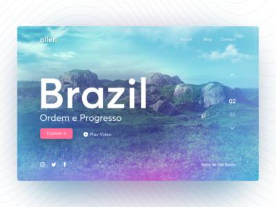 Aller - Travel Website