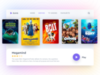 Zuva - Movie Streaming UI