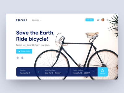 Eboki - Rent bicycle web UI