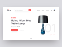 Diya - Shopping Web Hero Section