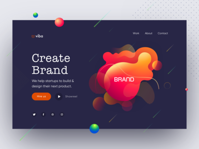 Design Agency Web Ui