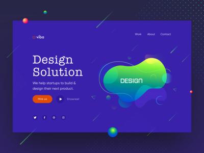 Design Agency Web UI #2