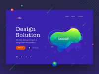 Design Agency Web UI #2