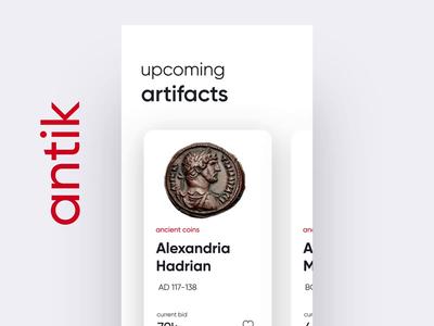 Bidding Artifacts UI