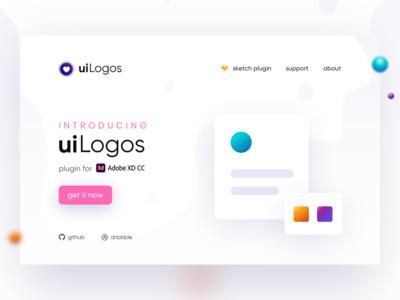 uiLogos - Adobe XD Plugin