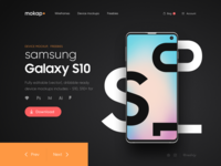 Mokap - Freebies Samsung S10 Mockups