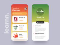 Learnn app ui
