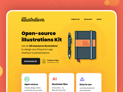 illlustrations - open source illustration library