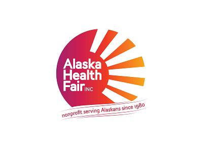 Case Study Alaska Health Fair ux vector typography print icon design de logo graphic design ui branding