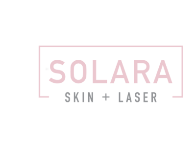 Case Study SOLARA SKIN + LASER graphic design ui logo branding vector typography print icon design