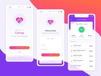 Coin Up App Design Project