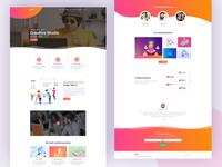 Glitz - Creative Agency Landing Page