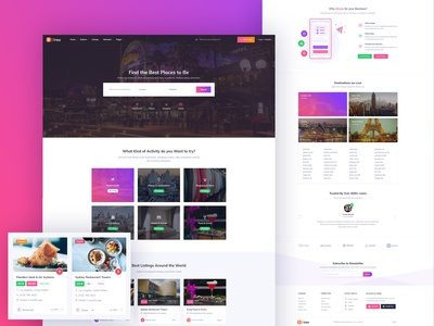 Direo - Directory & Listing Website Template