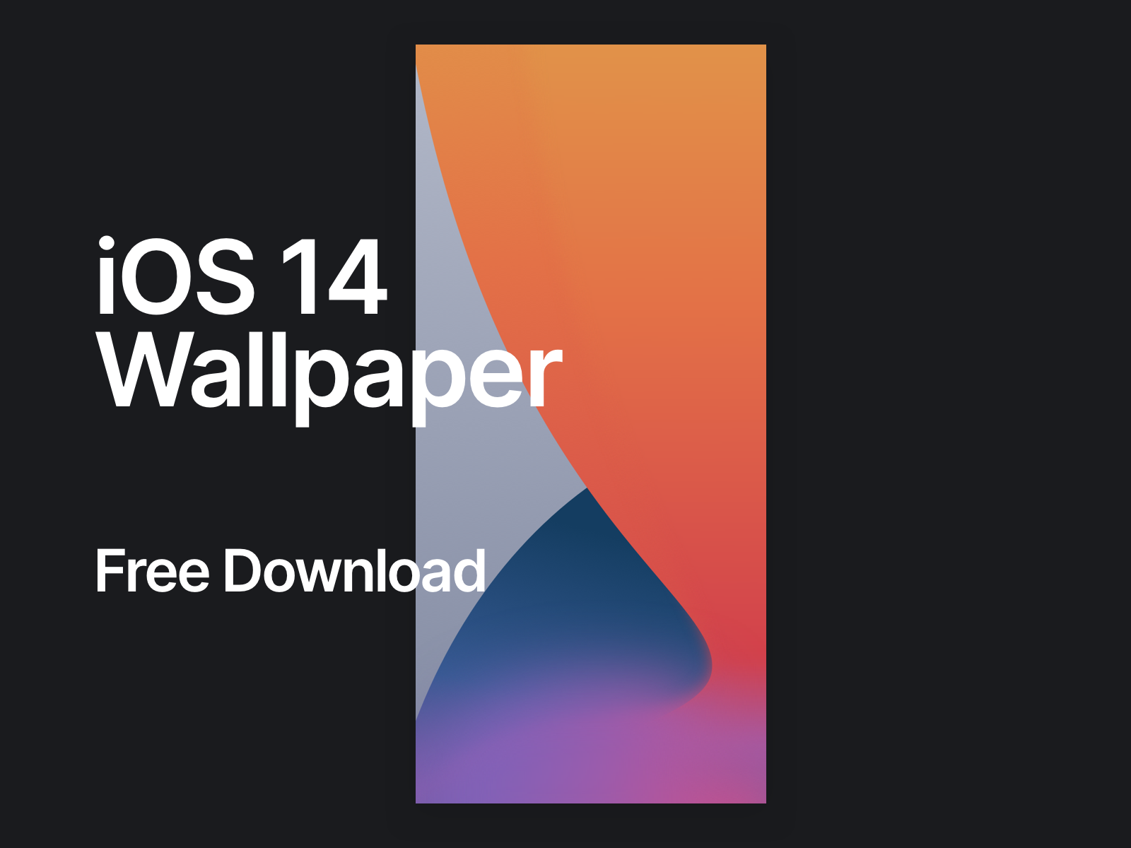 Ios 14 Wallpaper Shot By Daniel Myer On Dribbble