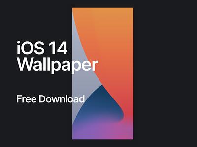 iOS 14 Wallpaper Shot illustration design ux ui apple iphone 11 wallpaper iphone 11 wallpaper ios 14
