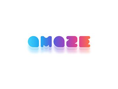 Amaze Logo web app icon branding vector logo illustration