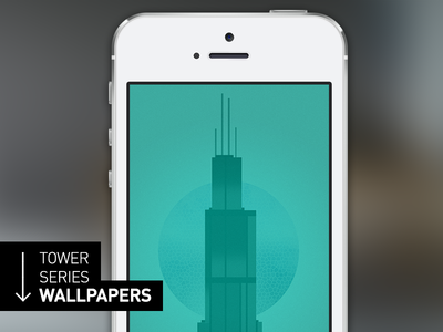 Tower Series iPhone 5s Wallpaper