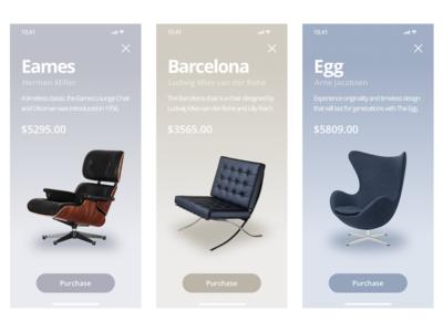Furniture - App Concept