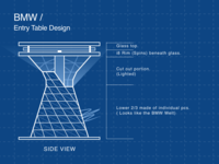 Industrial Design - BMW Table