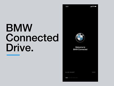 BMW Connected UI Motion animation automotive ui motion