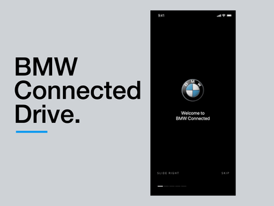 BMW Connected UI Motion
