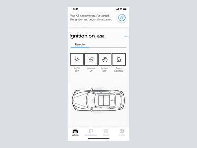 ipa feature test app design automobile ui design motion design bmw