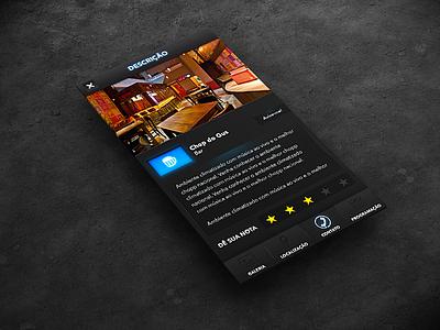 App - Vaisaí app balada show beer interface ui iphone ios mockup social ux apps