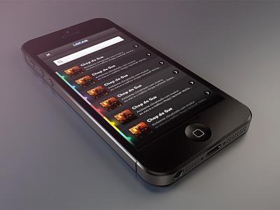 App - Vaisaí apps ux social mockup ios iphone ui interface beer show balada app