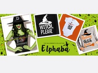 Halloween banner design - Elphaba