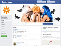Halloween -Facebook cover page design