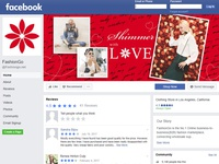 Valentines Day - Facebook cover page design