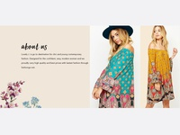 Banner design - about us