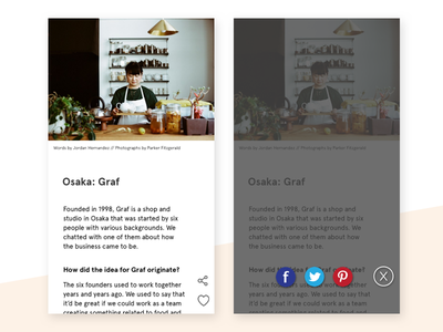 Social Share—Daily UI #010 socialshare share 010 dailyui