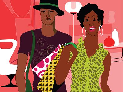 New Orleans graphic artist jazz healthy living minority urban lifestyle lifestyle luxury outdoor activity activity vacation shopping leisure travel fashion adobe illustrator vector design portfolio illustration graphic design