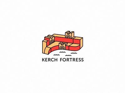 Kerch Fortress logo