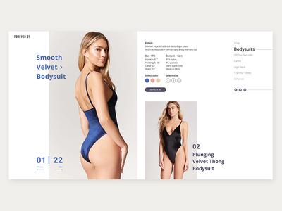 Women's bodysuits page
