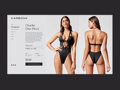 Swimsuit Gigi C Product Page