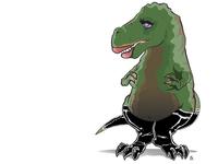 Paleo Pin-up: Tyranna Rex